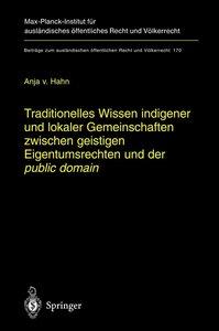 Traditionelles Wissen indigener und lokaler Gemeinschaften zwisc