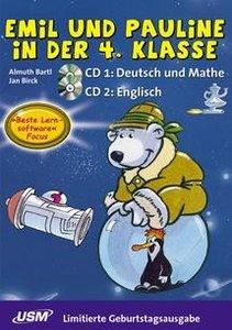 Emil und Pauline in der 4. Klasse. 2 CD-ROMs für Windows ab 95 /