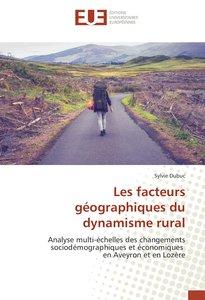 Les facteurs géographiques du dynamisme rural