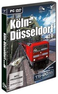 AddOn Trainsimulator 2016 Köln-Düsseldorf V 2.0