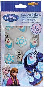 Dekoback Diseny Frozen - Dis Eiskönigin Zuckerfiguren zum Essen