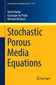 Stochastic Porous Media Equations
