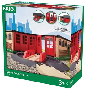 Brio 337365 - Großer Ringlokschuppen