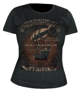 Greatest Of Adventures T-Shirt M Girlie Black