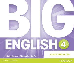 Big English 4 Class CD