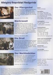 Folgen 1-4,Königlich Bayr.Amtsgericht