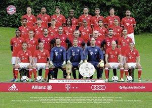 FC Bayern Saison 2016/2017 Puzzle 1000 Teile