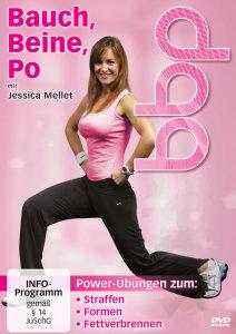 Bauch, Beine, Po mit Jessica Mellet - Straffen - Formen - Fett v