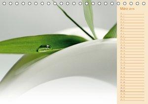 Wassertropfen Design (Tischkalender 2016 DIN A5 quer)