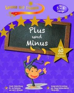 Lernen mit Sternen - Plus und Minus für 5- bis 6-Jährige