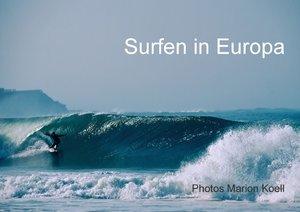 SURFEN IN EUROPA (Posterbuch DIN A2 quer)
