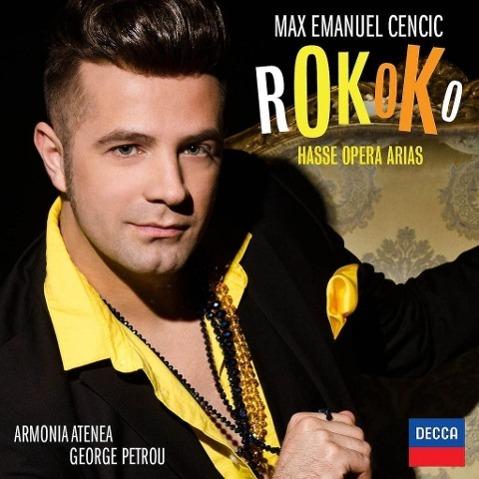Rokoko: Hasse Opera Arias - zum Schließen ins Bild klicken