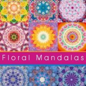 Floral Mandala (Wall Calendar 2015 300 × 300 mm Square)