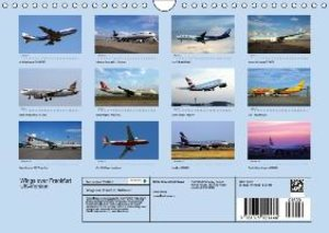 Wings over Frankfurt (UK Edition) (Wall Calendar 2015 DIN A4 Lan