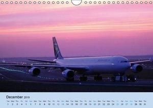 Wings over Frankfurt (UK Edition) (Wall Calendar 2015 DIN A4 Lan
