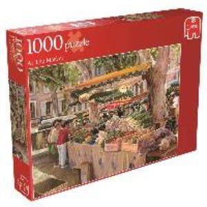 Auf dem Markt. Puzzle 1000 Teile