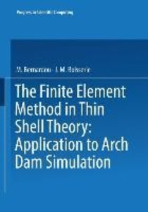 The Finite Element Method in Thin Shell Theory: Application to A