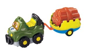 VTech 80-164604 - Tut Tut Baby Flitzer - Geländewagen und Anhäng