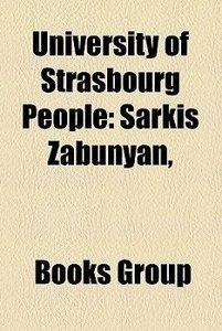 University of Strasbourg people