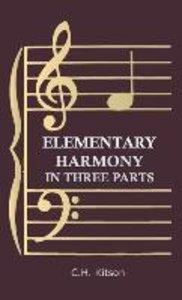 Elementary Harmony - In Three Parts