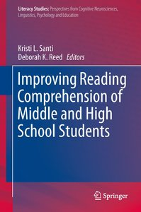Improving Reading Comprehension of Middle and High School Studen