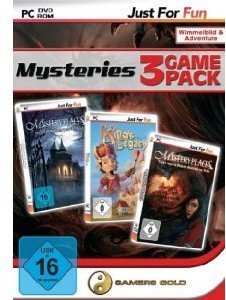 Just for Fun Mysteries 3 Game Pack 1 - Geistervilla / Kings Lega