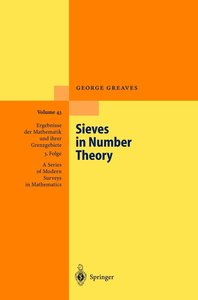Sieves in Number Theory