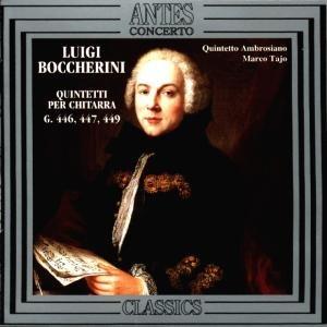 Boccherini:Gitarrenquintette G.446,447,449