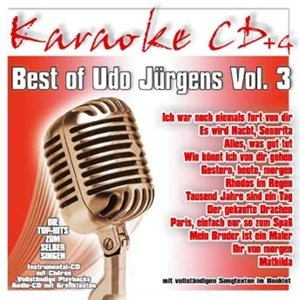 Best Of Udo Jürgens Vol.3-Karaoke CDG