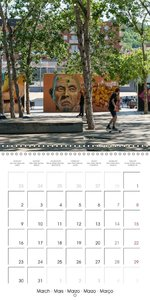 Emotional Moments: Barcelona - The Arts (Wall Calendar 2015 300
