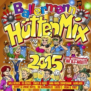 Ballermann Hütten Mix 2015