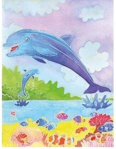 Ravensburger 29310 - Delfine, Aquarelle Midi, 18 x 24 cm