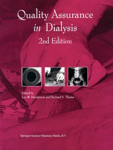 Quality Assurance in Dialysis