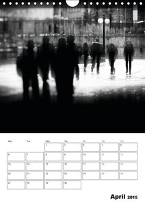 City Noir Collection (Wall Calendar 2015 DIN A4 Portrait)