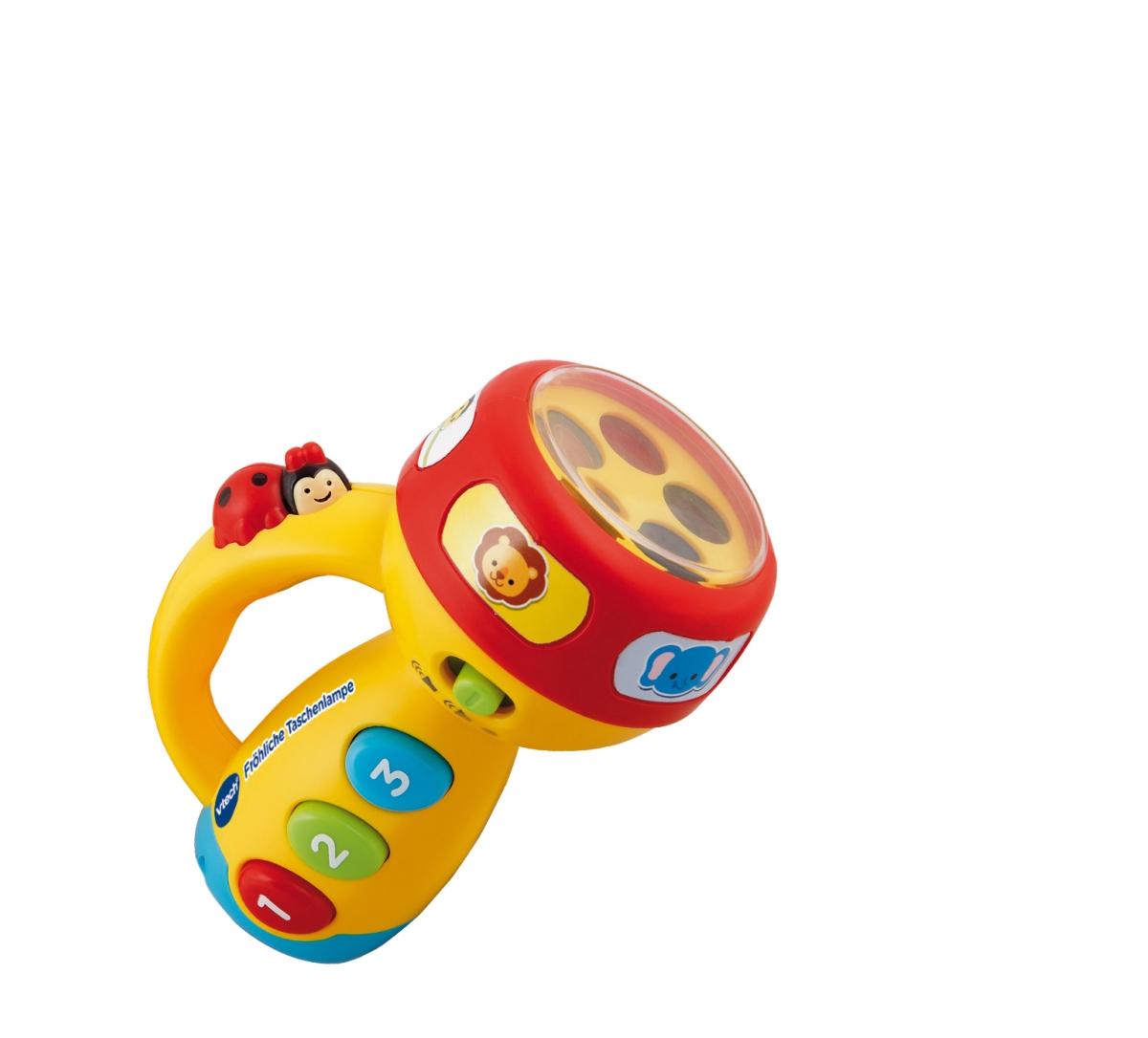 VTech Baby 80-124004 - Fröhliche Taschenlampe - zum Schließen ins Bild klicken