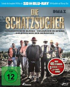 Die Schatzsucher Goldrausch Box (SD on Blu-ray)