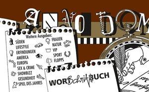 Anno Domini - Wort-Schrift-Buch