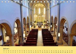 St. Severin Eilendorf 2017 (Tischkalender 2017 DIN A5 quer)