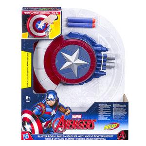 Hasbro B9943EU4 Avengers Captain America Blaster Reveal Schild
