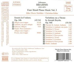 Vierhändige Klaviermusik Vol.3