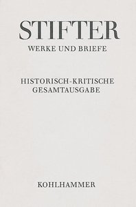 Werke und Briefe I/4. Studien, Buchfassungen I