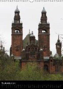 Glasgow - a different view / UK Version (Wall Calendar 2015 DIN
