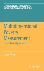 Multidimensional Poverty Measurement