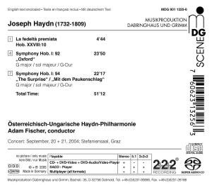 Sinfonien 92 & 94/Ouvertüre