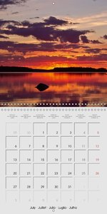 Scandinavian Evenings (Wall Calendar 2015 300 × 300 mm Square)