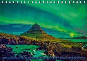 Polarlichter: Magisches Leuchten (Tischkalender 2016 DIN A5 quer