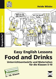 Easy English lessons: Food and drinks
