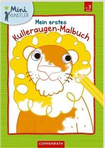 Mein erstes Kulleraugen-Malbuch: Löwe