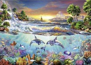 Schmidt Spiele 58173 - Unterwasserparadies, 1000 Teile Puzzle