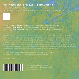 Tchaikovksy,Bach,Stravinsky.Rococo